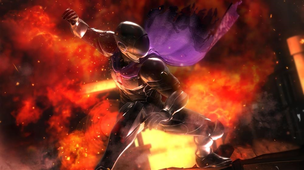 Image from DOA5LR Fighter Force Hayabusa
