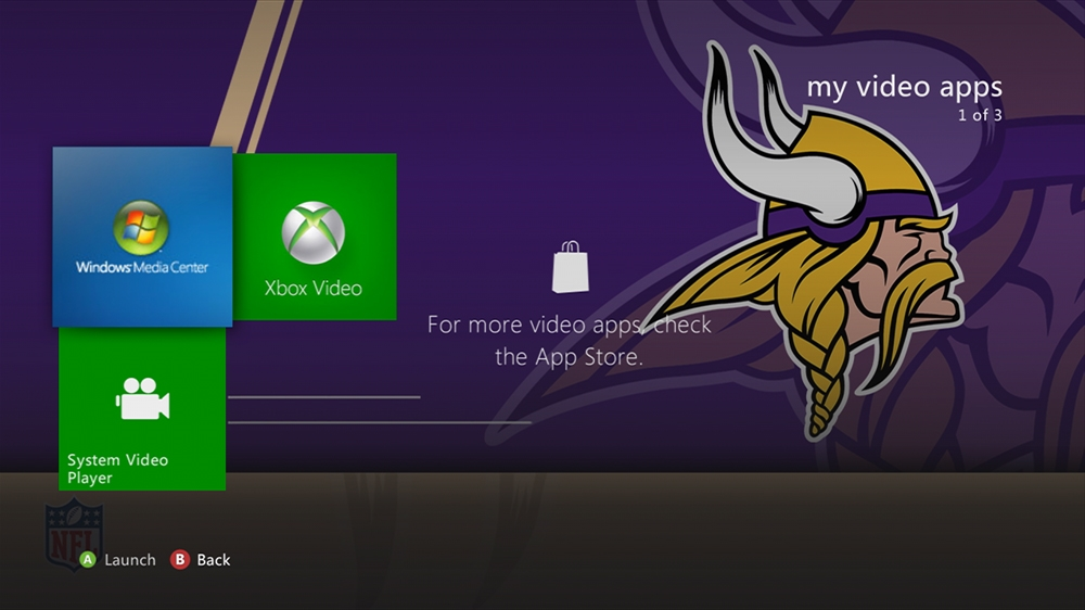Image from NFL - Vikings Rush Theme