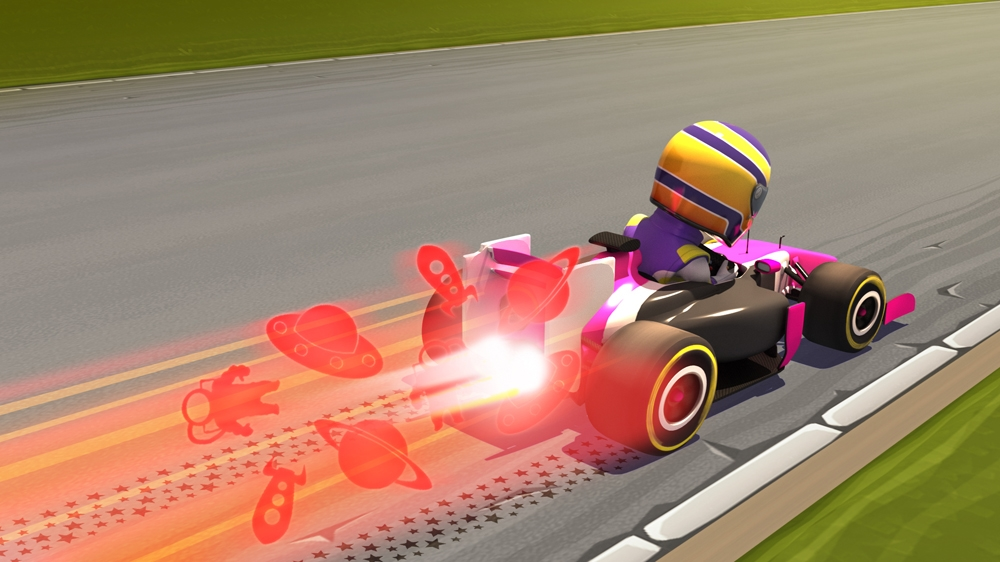 Image from F1 RACE STARS™ Science Accessory Pack