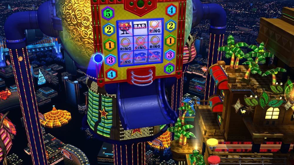 Sonic Generations 'Casino Night' Pinball 이미지