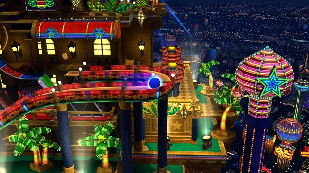 Image from Sonic Generations 'Casino Night' Pinball