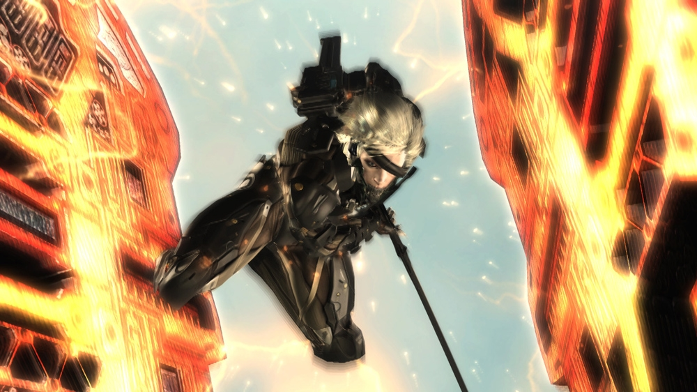 "Image from Custom Body for ""Raiden"" in ""Metal Gear Rising: Revengeance"". A green design is used to mimic military fatigues."