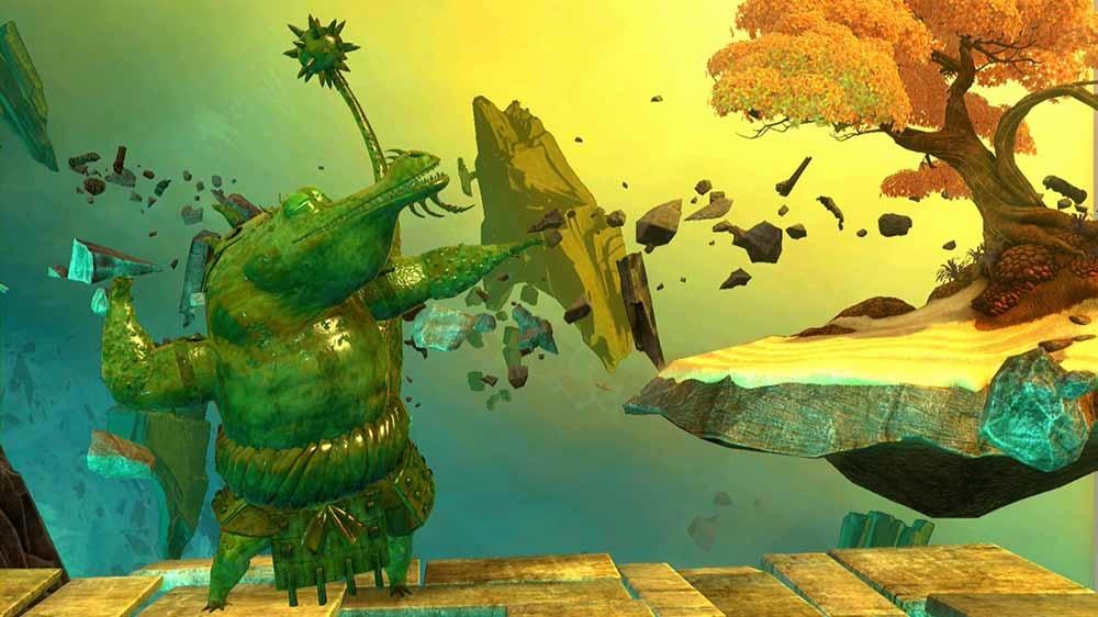 Imagen de Kung Fu Panda Aspecto: Maestro Cocodrilo Jombie