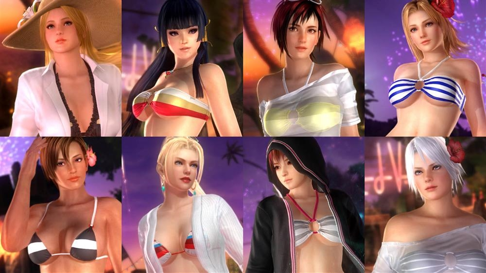 Image from DOA5LR Hot Summer Costume Set