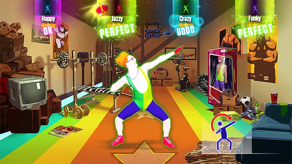 "Image from Just Dance 2015 - ""Sexy And I know It"" by LMFAO"