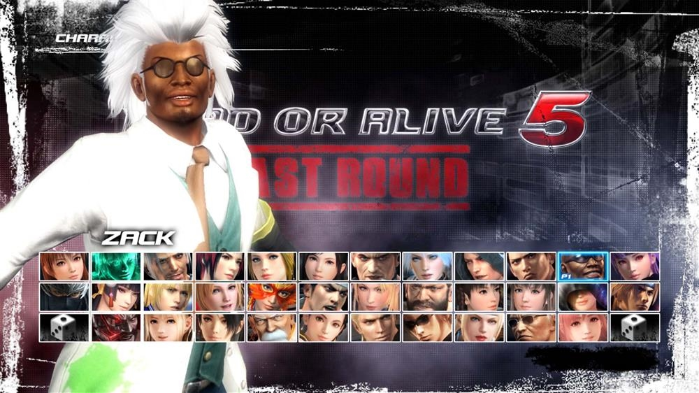 Image from DOA5LR Zack Halloween Costume 2015