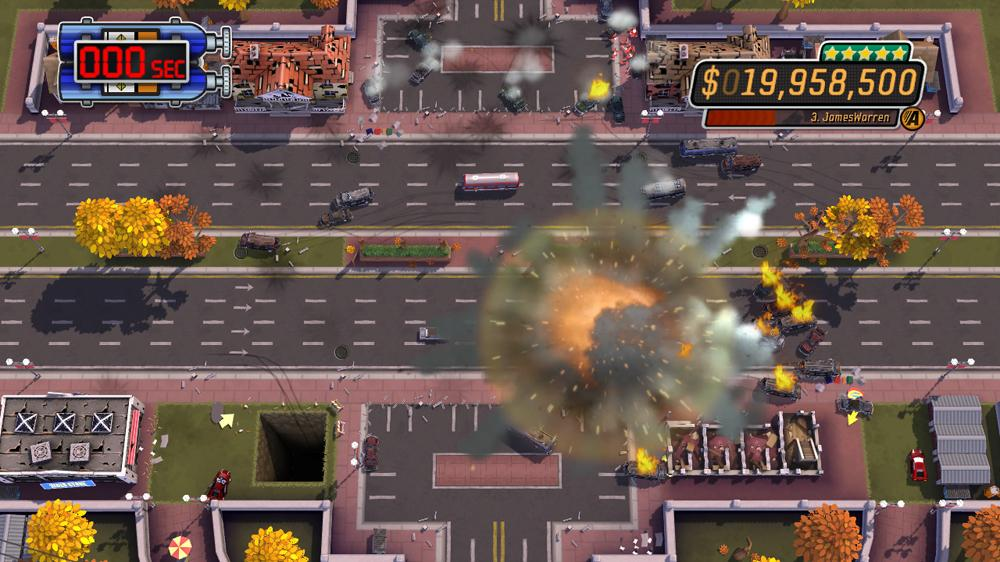 Image from Burnout™ Crash!  Special Move Hoff Trailer