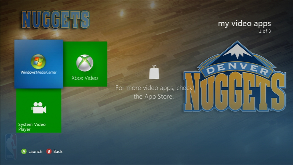 Imagen de NBA: Nuggets Center Court