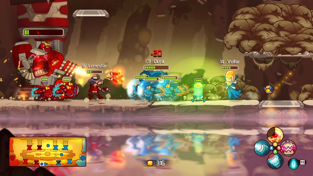 Image from &quot;Meet the Awesomenauts&quot; Trailer