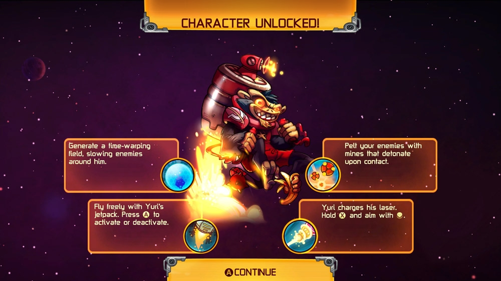 """Image from """"Meet the Awesomenauts"""" Trailer"""