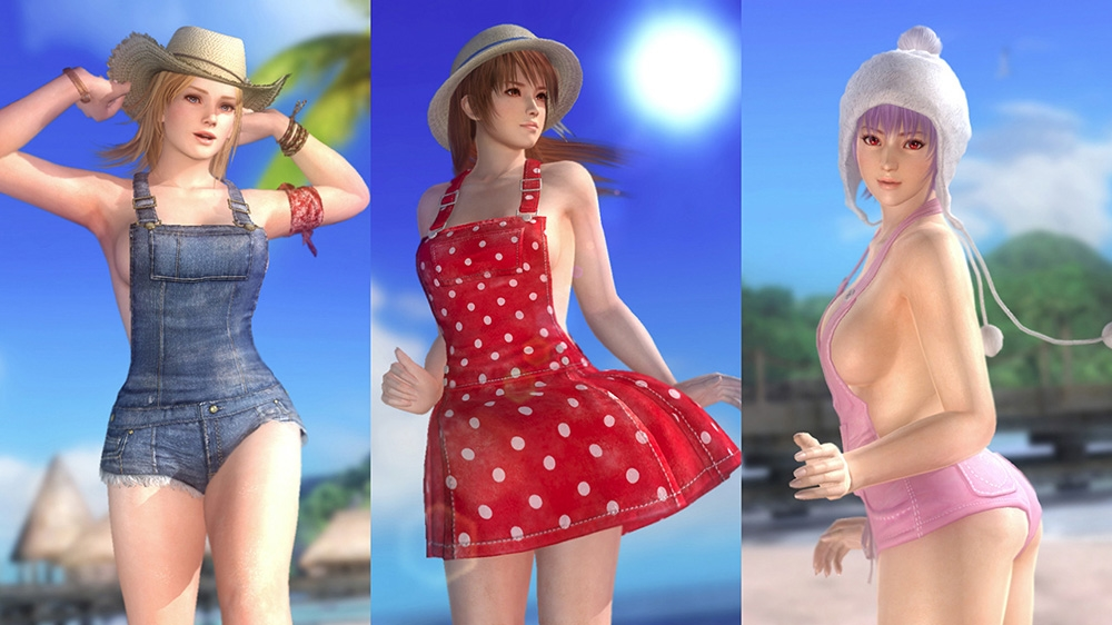 Image from Dead or Alive 5 Ultimate Overalls Set