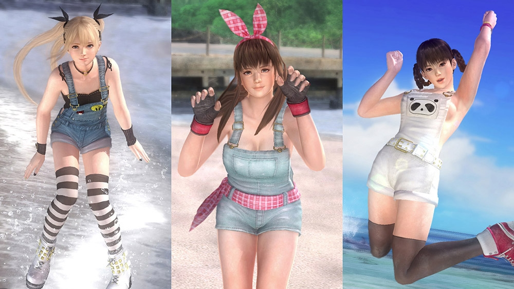 Image de Set de salopettes pour Dead or Alive 5 Ultimate