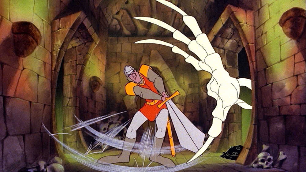 Image from Dragon's Lair® Trailer