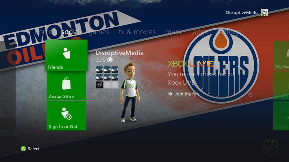 Image from NHL - Oilers Highlight Theme