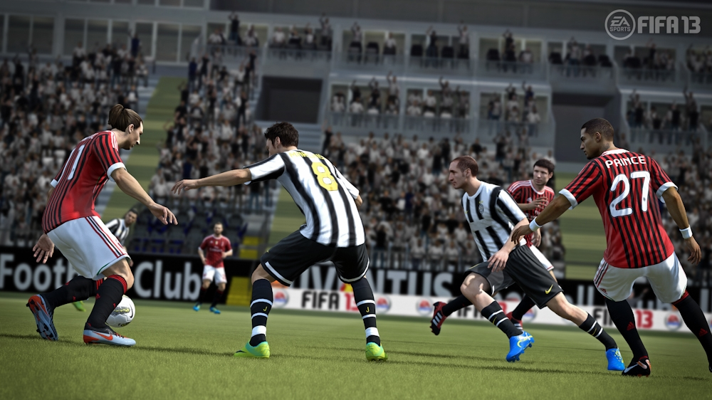 Image from FIFA 13 Gamescom 2012 Trailer