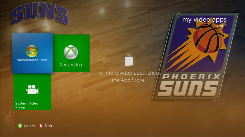 Image from NBA: Suns Center Court