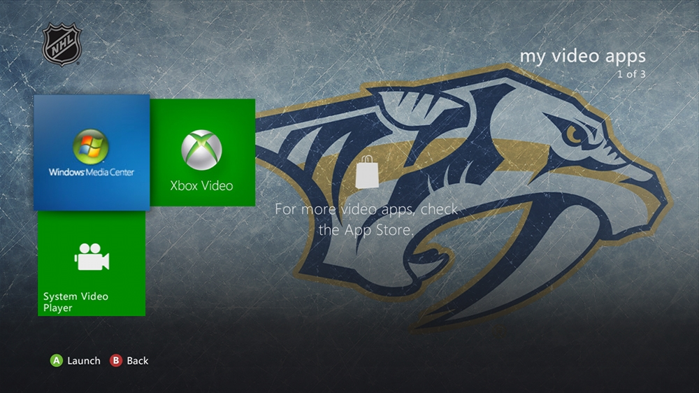 Bild von NHL - Predators Highlight Theme