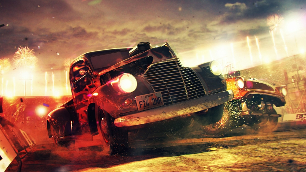 Image from DiRT Showdown CrashGameplay Sizzle