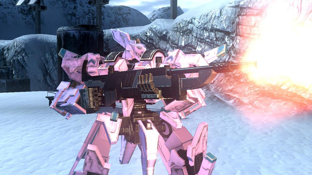 Image from Front Mission Evolved: Wanzer Weapons Pack 1