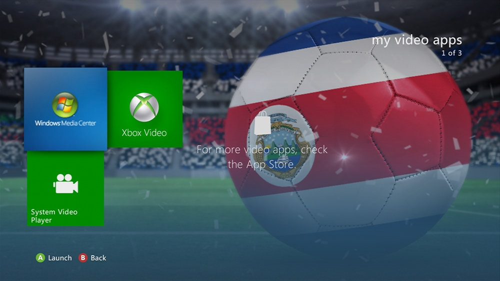Imagen de World of Football - Costa Rica Theme