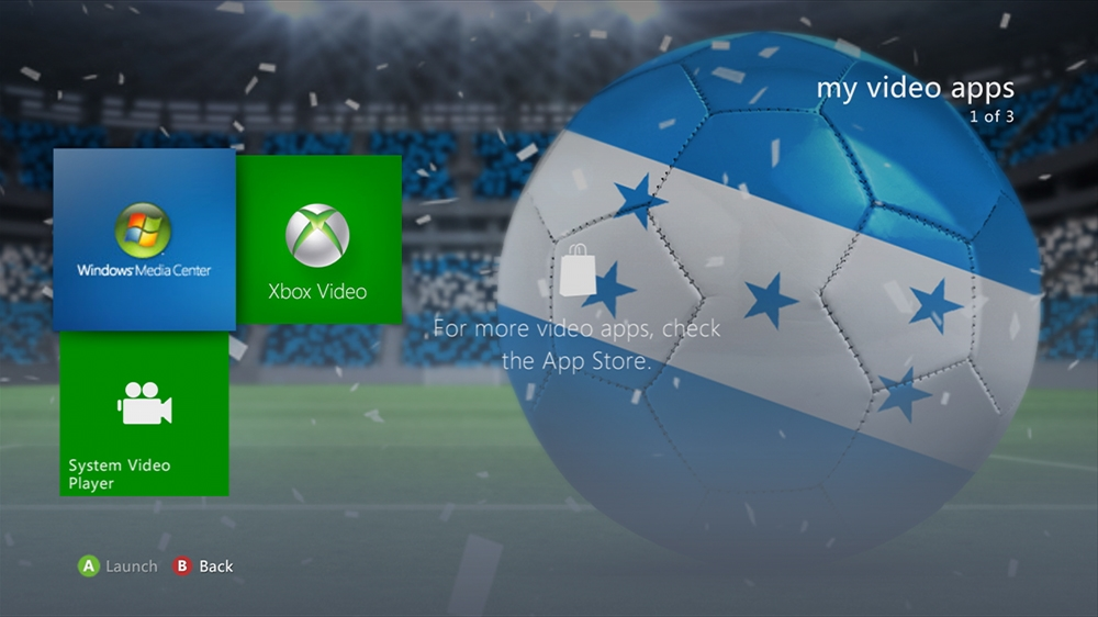 Image from World of Football - Honduras Theme