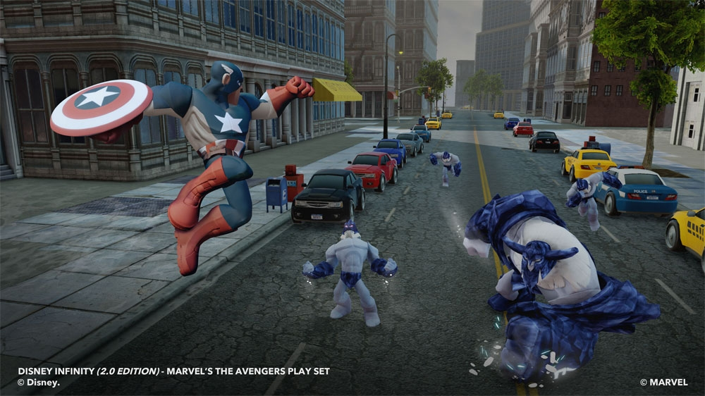 Image from Marvel's The Avengers Play Set Trailer