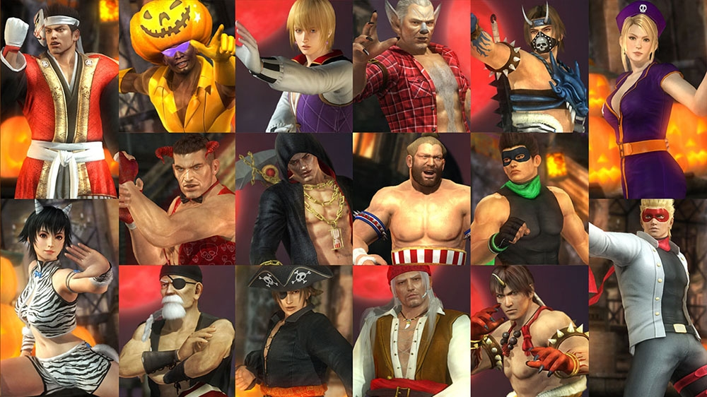 Image from Dead or Alive 5 Ultimate Halloween Costume 2014 Set