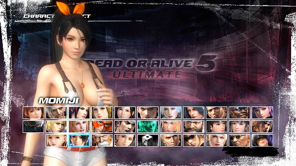 Image from Dead or Alive 5 Ultimate Momiji Overalls