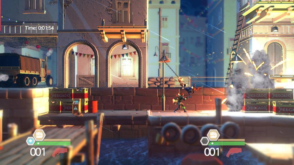 Image from Bionic Commando Rearmed 2