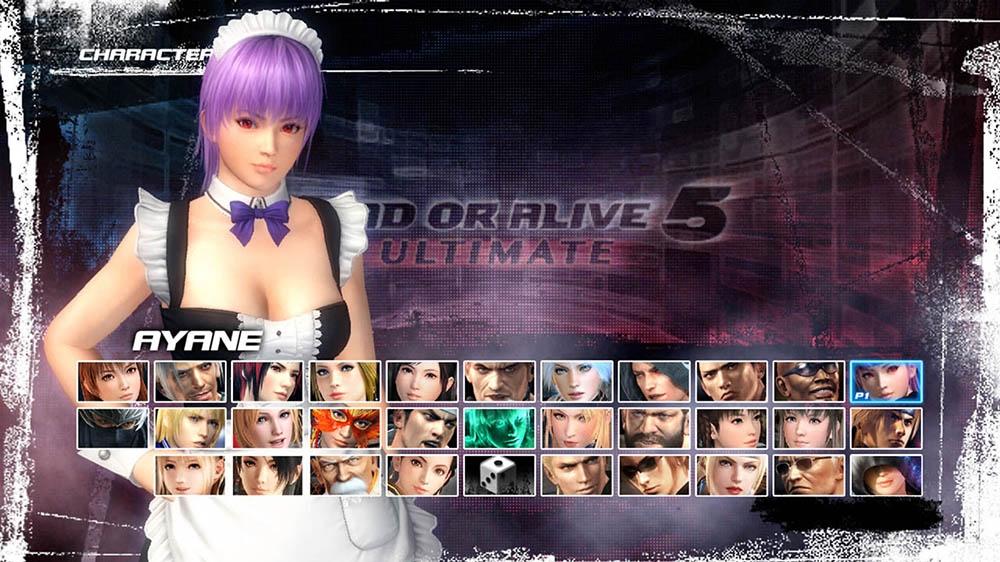 Image de Dead or Alive 5 Ultimate - Tenue soubrette Ayane