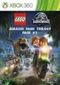 Paquete N.º 1 de la trilogía LEGO® Parque Jurásico