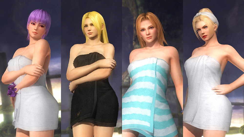 Image de Dead or Alive 5 Ultimate - Tenues de douche & pyjamas