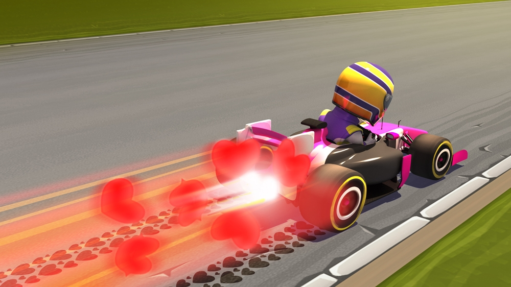 Image from F1 RACE STARS™ Princess Accessory Pack
