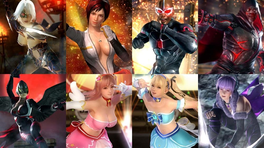 Image from DOA5LR Fighter Force Costume Set