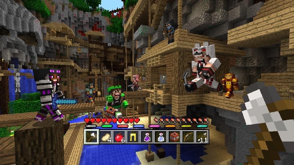 Imagen de Pack de aspecto Maestros MiniGames de Minecraft