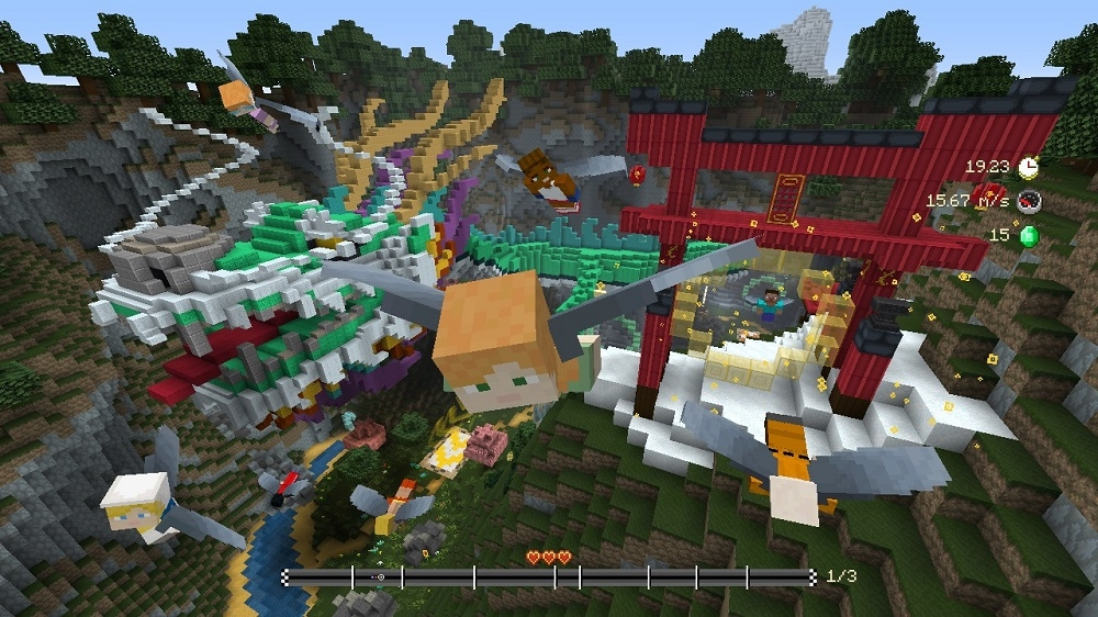 Image de Pass saison pack de circuits Vol plané Minecraft