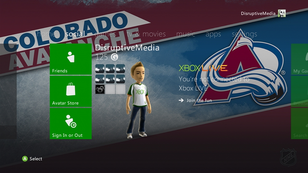 Image from NHL - Avalanche Highlight Theme