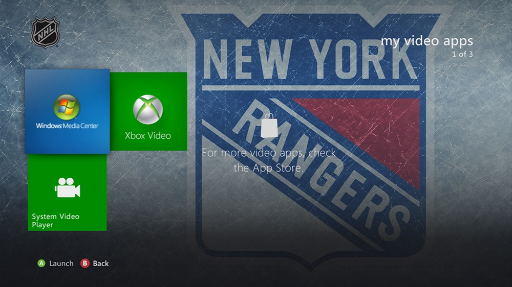 Bild von NHL - Rangers Highlight Theme