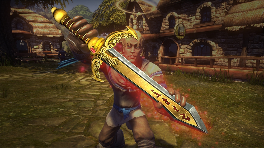 "Image from Fable ""Sword of Strategia"" Golden Weapon Pack"