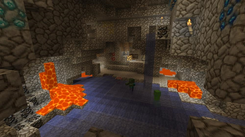 Image from Minecraft Natural Texture Pack