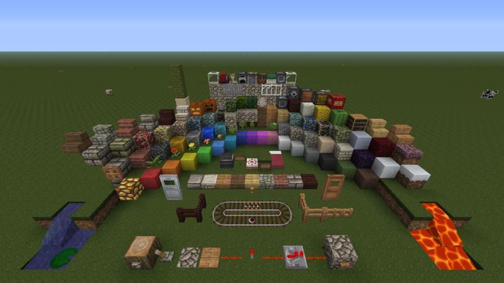 Image de Pack de textures Nature Minecraft