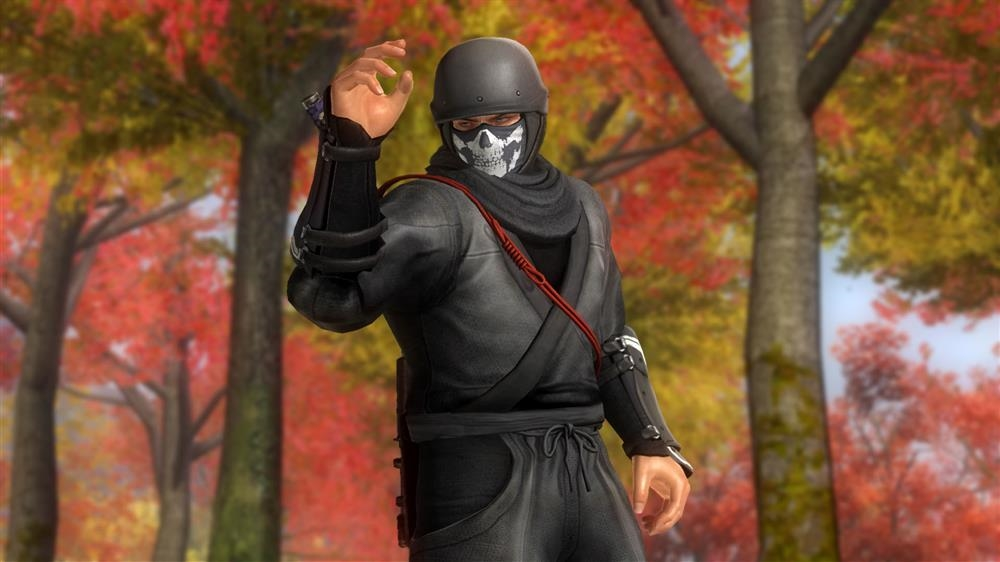 Image from DOA5LR Ninja Clan 2 - Bayman