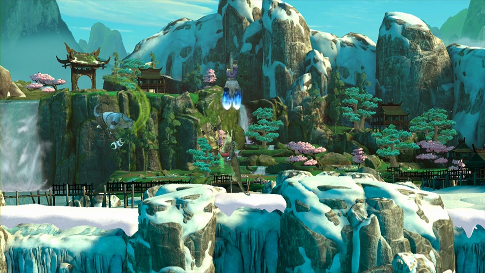 Imagen de Kung Fu Panda Nivel: Vista Panorámica del Panda