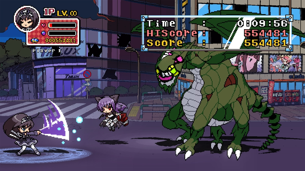 Image from Phantom Breaker:Battle Grounds -Announce Trailer-