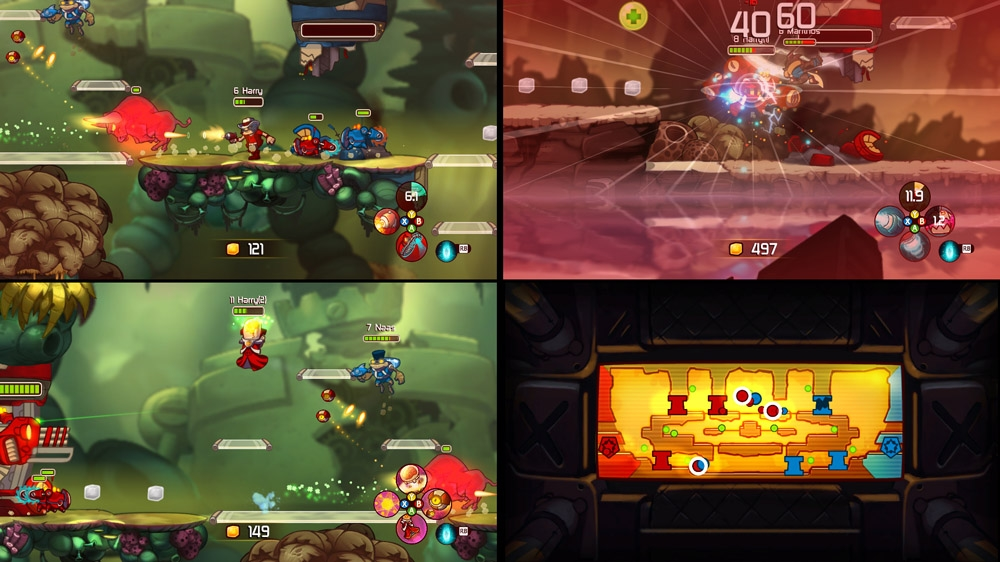 Image from Awesomenauts Release Trailer