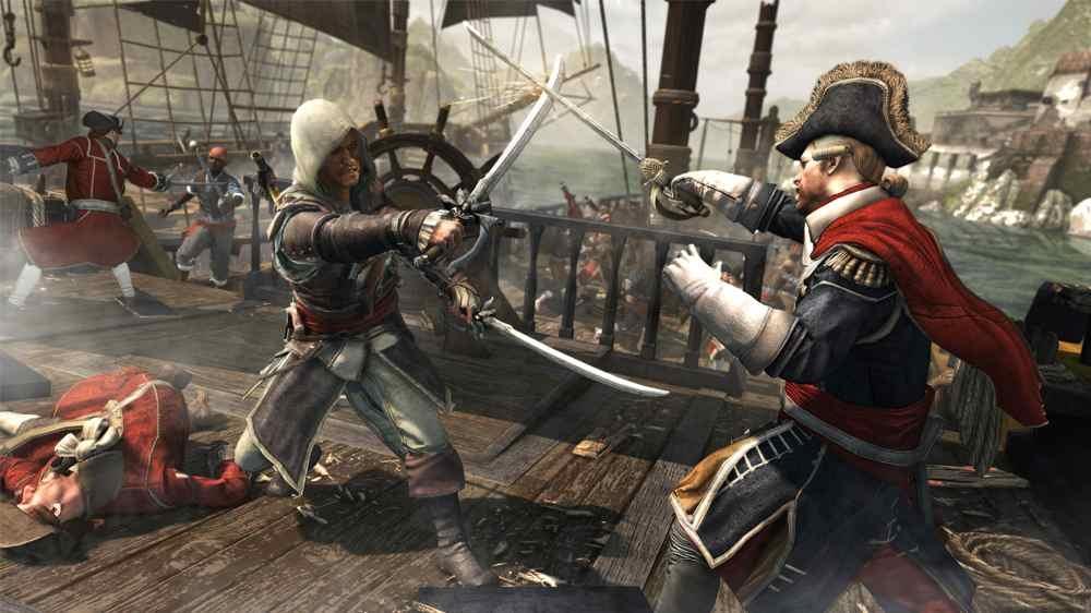 Image from Assassin's Creed 4 Black Flag E3 Gameplay Trailer