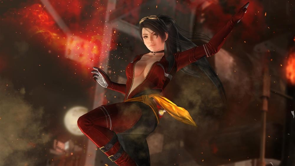 Image from DOA5LR Fighter Force Momiji