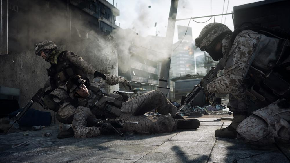 Bild von BF3-Multiplayer-Gameplay