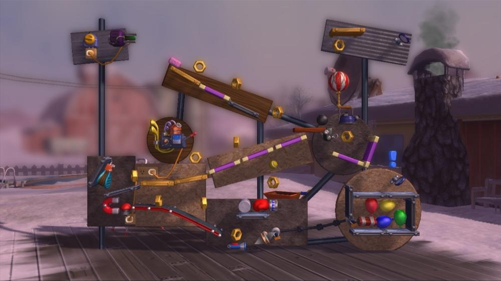 Image from Crazy Machines Elements Trailer