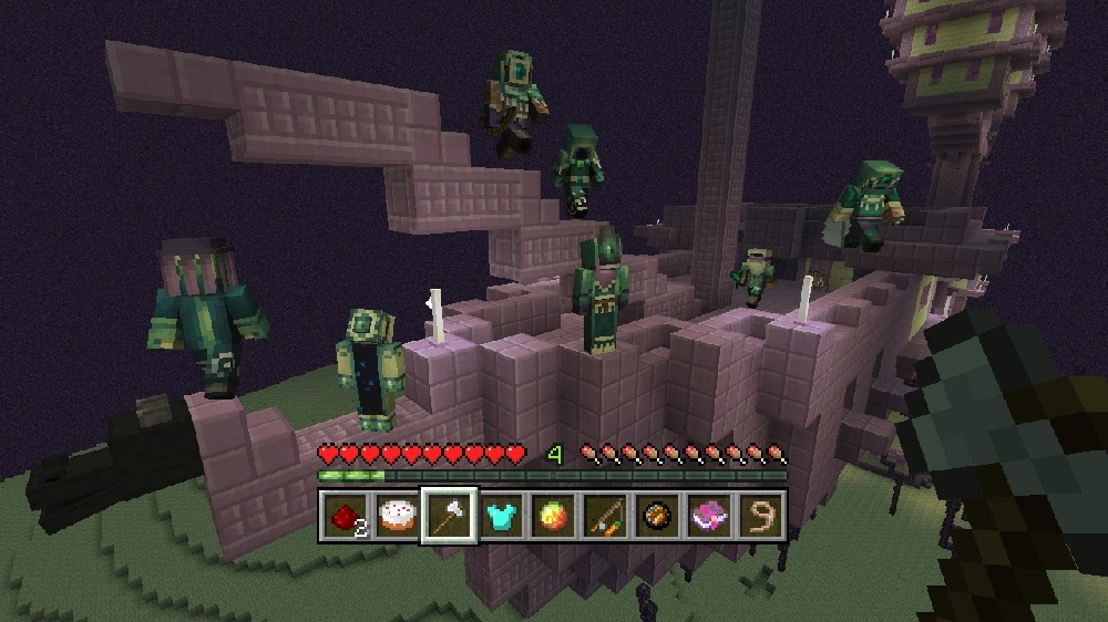 Image from Minecraft Strangers - Biome Settlers 3 Skin Pack